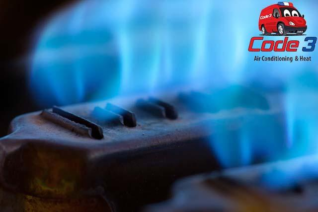 natural gas is used to heat homes