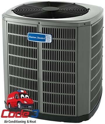 replacing old AC system with American Standard